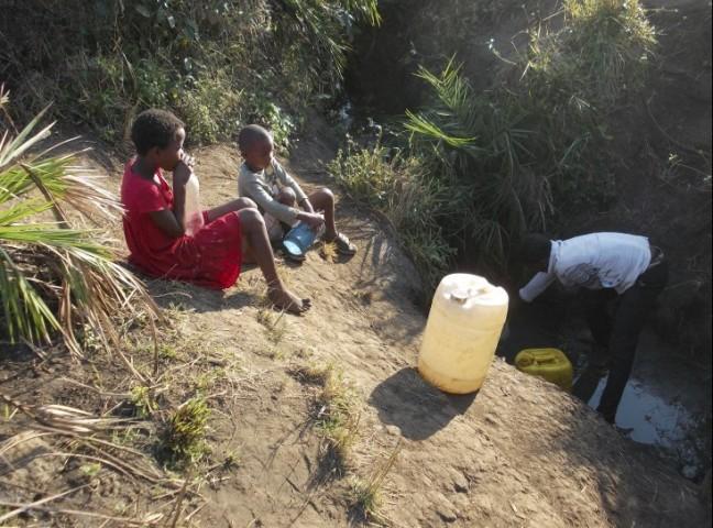 Siboniso Bhekumusa Sibiya, The Fountain, 2012
