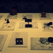 Enzo Mari drawings, notes and designs