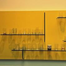 Daniel Eatock & Andrea Branzi (Wall Bookshelf 2011)